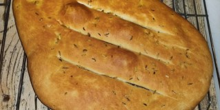 Home-made Spiced Flatbreads