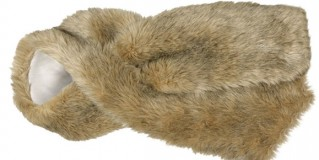 Luxurious faux fur scarf from Danilo Gabrielli