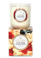 Win A Yuzu Rose Stonecrop Scented Candle