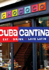 Win a meal and shopping vouchers for Cuba Cantina and Chococo