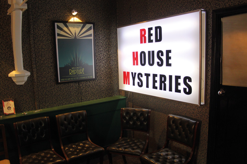 Go Here... Red House Mysteries Escape Rooms - One Magazine