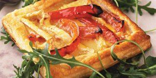 Camembert & Red Pepper Tarts