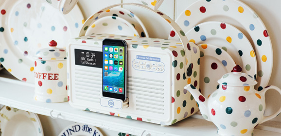 Win an Emma Bridgewater Patterned VQ Retro MkII Digital Radio!