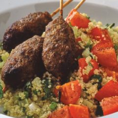 Lamb Koftas with Minted Couscous