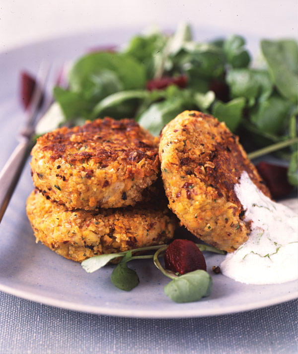 spiced-bean-and-carrot-patties