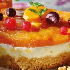Apricot and Orange Cheesecakes
