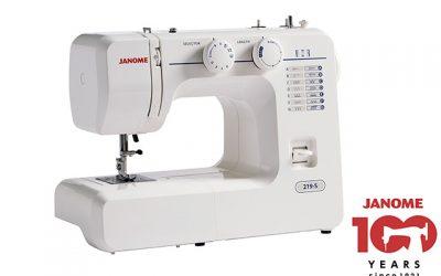 Win a Janome 219-S Sewing Machine!