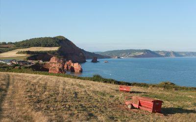 Budleigh Salterton to Ladram Bay Cliff Top Circular Walk